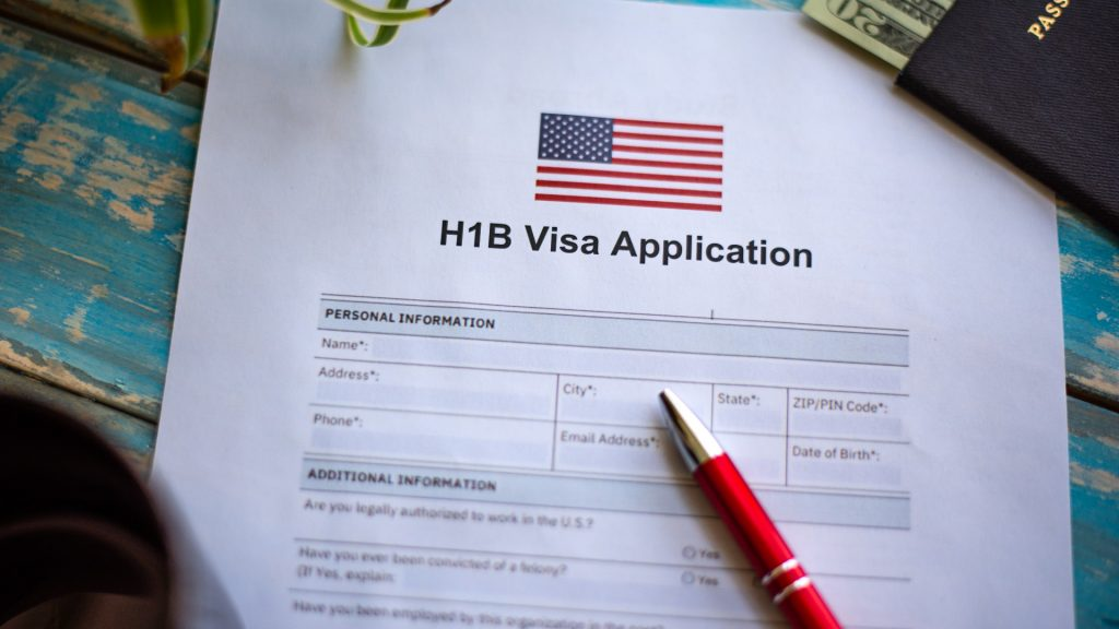 H-1B visa application