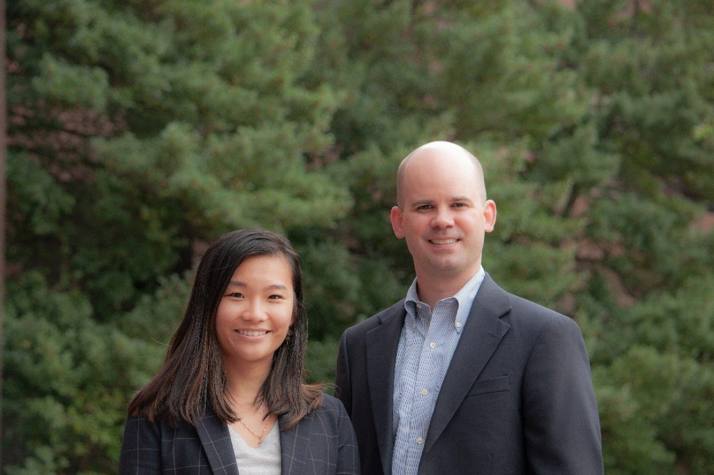 Sheila Sheng and Nick Harling
