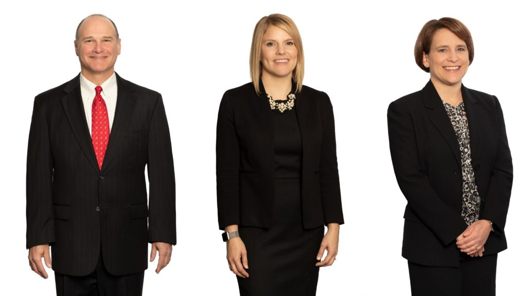 Steven Garfinkel, Hannah Little and Meredith Barnette